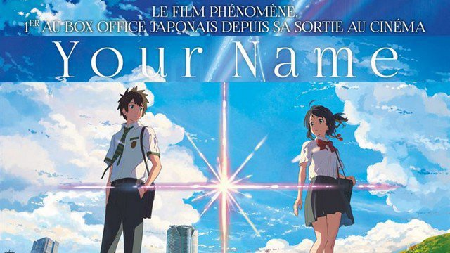 bande annonce du film d 39 animation japonais your name 2016. Black Bedroom Furniture Sets. Home Design Ideas