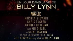 UN JOUR DANS LA VIE DE BILLY LYNN : Bande-annonce du film en VOSTF