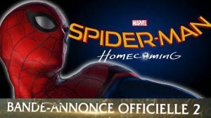 SPIDER-MAN - HOMECOMING : Nouvelle Bande-annonce du film en VF