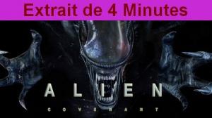 ALIEN COVENANT : Extrait de 4 minutes du film de Ridley Scott