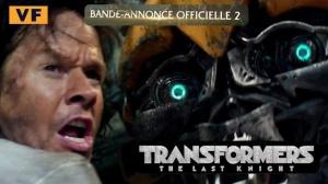 TRANSFORMERS - THE LAST KNIGHT : Nouvelle bande-annonce du film en VF