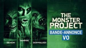 THE MONSTER PROJECT : Bande-annonce du film d'horreur en VO