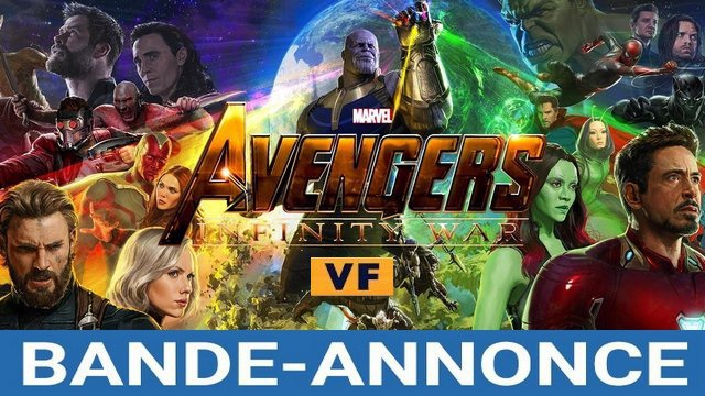 bande annonce du film avengers infinity war en vf. Black Bedroom Furniture Sets. Home Design Ideas