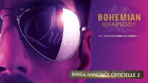 BOHEMIAN RHAPSODY : Nouvelle bande-annonce du film sur Freddie Mercury en VF