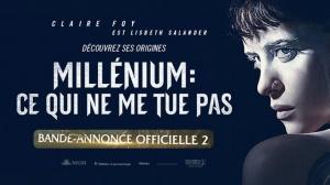 MILLÉNIUM - CE QUI NE ME TUE PAS : Nouvelle bande-annonce du film en VF