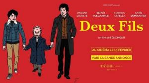DEUX FILS : Bande-annonce du film avec Vincent Lacoste et Benoît Poelvoorde