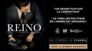 EL REINO (2019) : Bande-annonce du film espagnol en VOSTF