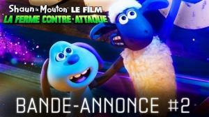 SHAUN LE MOUTON, LE FILM - LA FERME CONTRE-ATTAQUE : Nouvelle bande-annonce du film en VF