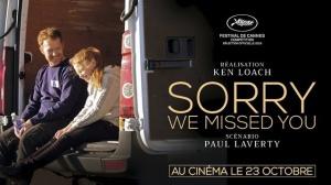 SORRY WE MISSED YOU : Bande-annonce du film de Ken Loach en VOSTF
