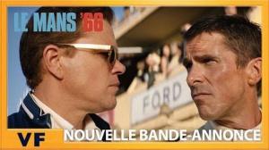 LE MANS 66 : Nouvelle bande-annonce en VF du film avec Matt Damon et Christian Bale