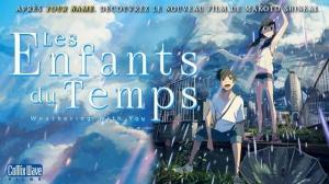 LES ENFANTS DU TEMPS : Bande-annonce du film d'animation japonais en VOSTF