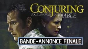 CONJURING - SOUS L'EMPRISE DU DIABLE : Nouvelle bande-annonce du film d'horreur en VF