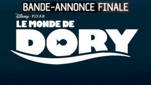 LE MONDE DE DORY : Bande-annonce Finale du film en VF
